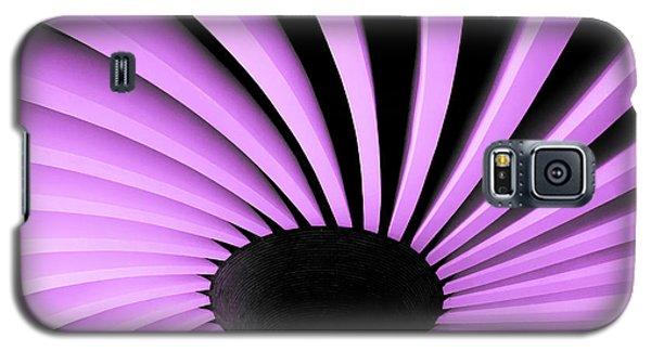Lilac Fan Ceiling Galaxy S5 Case