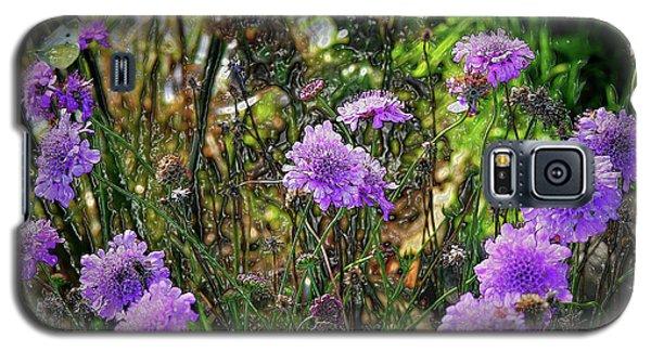 Lilac Jelly Pincushion Galaxy S5 Case