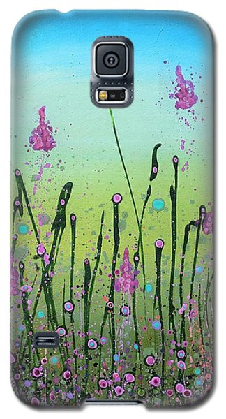 Lilacs And Bluebells Galaxy S5 Case