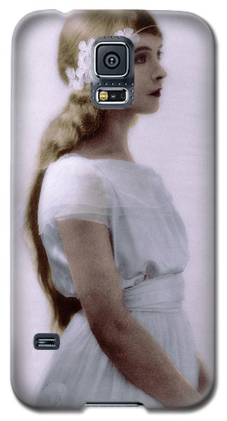 Lillian Gish Colorized Galaxy S5 Case