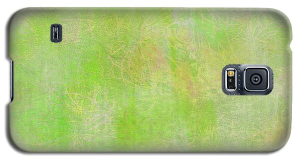 Lime Batik Print Galaxy S5 Case