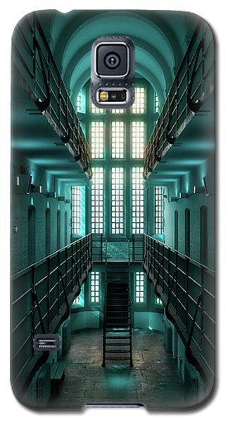 Lincoln Castle Prison In Blue Galaxy S5 Case