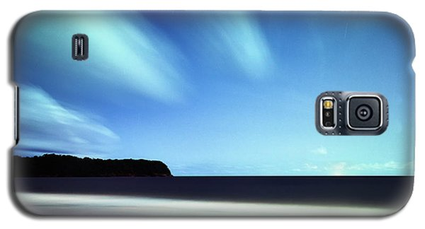 Linear Clouds Over Mayaro Galaxy S5 Case