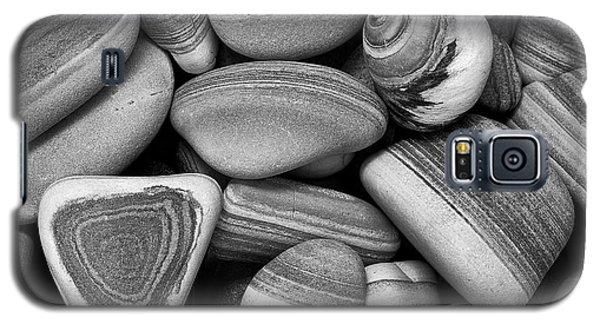 Lined Rocks And Shell Galaxy S5 Case
