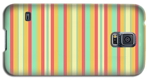 Lines Or Stripes Vintage Or Retro Color Background - Dde589 Galaxy S5 Case