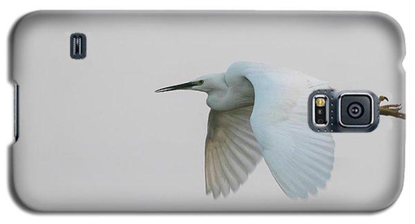 Little Egret Evening Flght Galaxy S5 Case