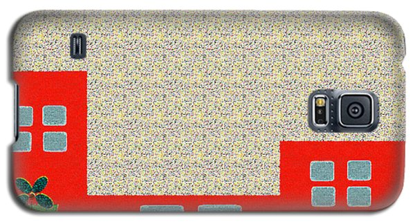 Little House Painting 4 Galaxy S5 Case