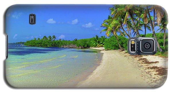 Living On An Island Galaxy S5 Case