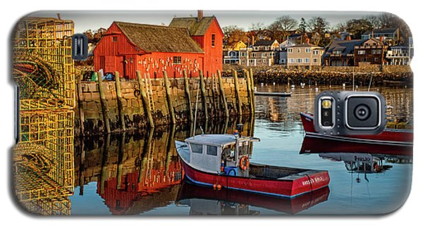Lobster Traps, Lobster Boats, And Motif #1 Galaxy S5 Case