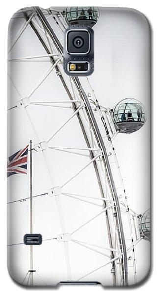 London Eye And Union Jack Galaxy S5 Case