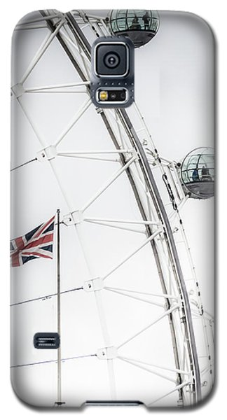 London Eye And Union Jack Galaxy S5 Case