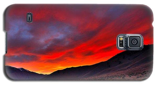 Lone Tent Galaxy S5 Case