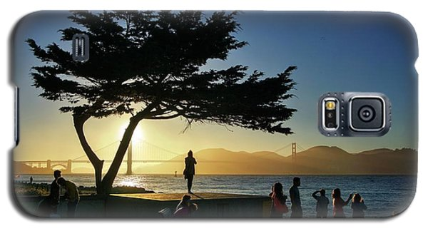 Galaxy S5 Case featuring the photograph Lonely Tree At Crissy Field by Quality HDR Photography