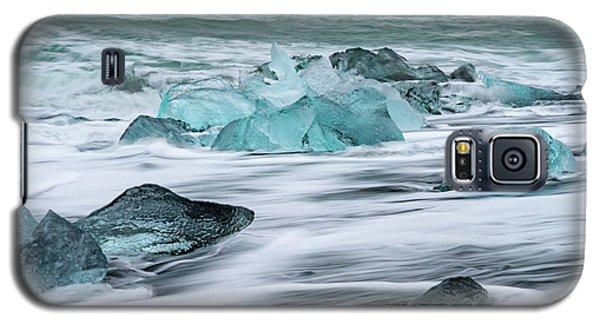Long Exposure At The Jokulsarlon Ice Beach Galaxy S5 Case