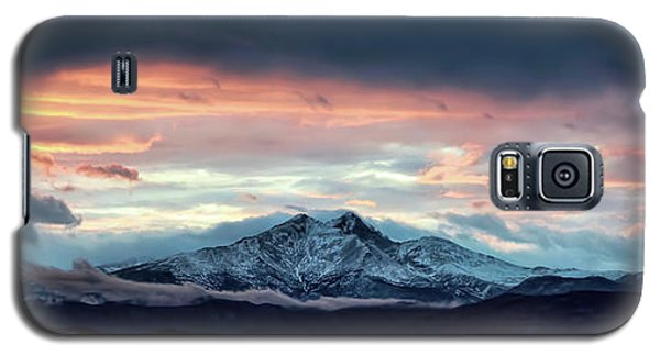 Longs Peak At Sunset Galaxy S5 Case