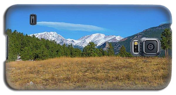 Longs Peak From Upper Beaver Meadows Galaxy S5 Case