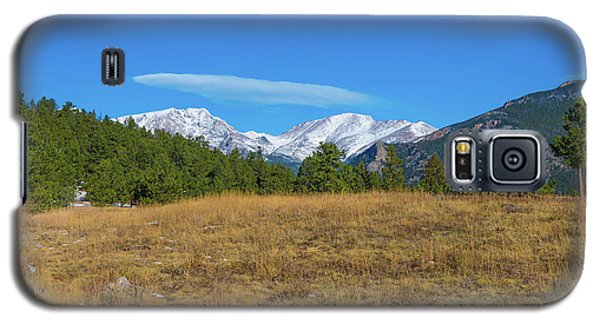 Longs Peak From Upper Beaver Meadows Galaxy S5 Case