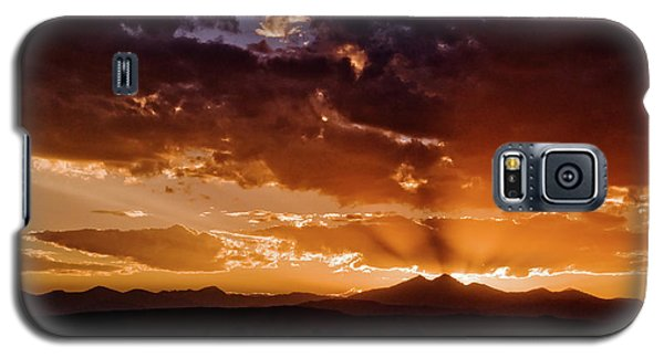 Longs Peak Sunset Galaxy S5 Case