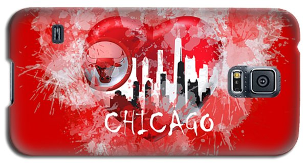 Love Chicago Colors Galaxy S5 Case