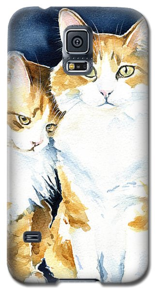 Love Me Meow Cat Painting Galaxy S5 Case