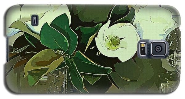 Magnolia Galaxy S5 Case - Loving Magnolias by Trudee Hunter