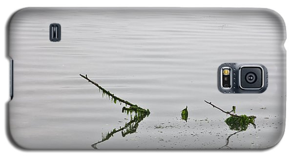 Galaxy S5 Case featuring the photograph Low Tide by Richard Lynch