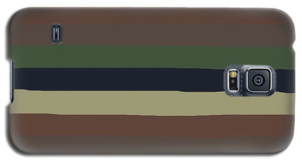 Army Color Style Lumpy Or Bumpy Lines - Qab279 Galaxy S5 Case