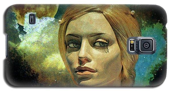 Luna In The Garden Of Evil Galaxy S5 Case