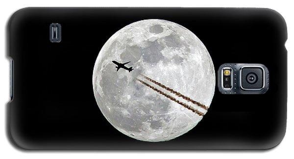 Lunar Photobomb Galaxy S5 Case