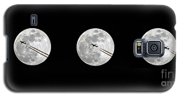 Lunar Silhouette In Sequence Galaxy S5 Case