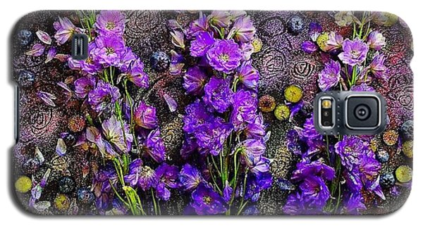 Lupine And Blueberries  Galaxy S5 Case