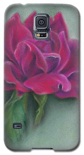 Lush Red Rose Galaxy S5 Case