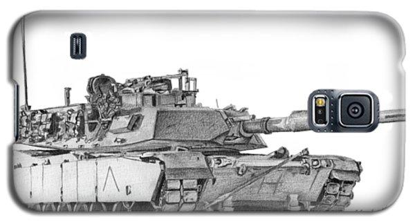 M1a1 A Company Commander Tank Galaxy S5 Case