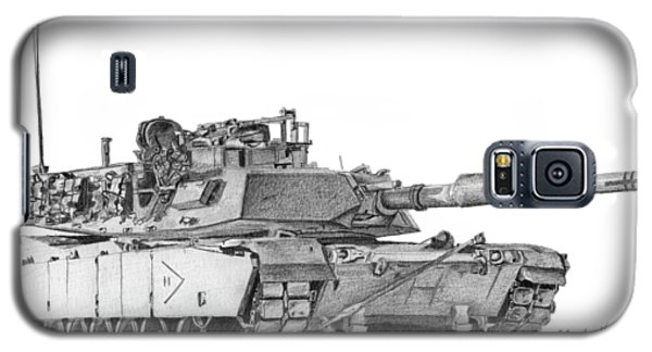 M1a1 B Company 2nd Platoon Commander Galaxy S5 Case
