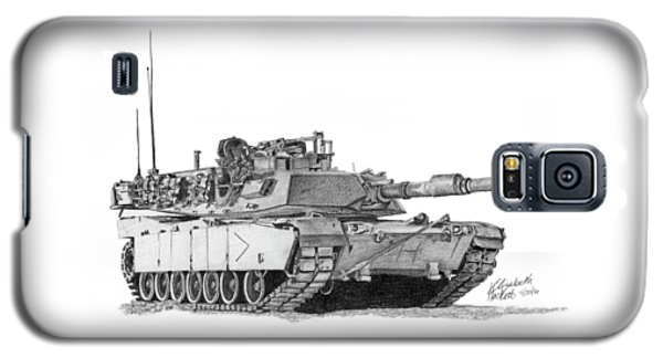 M1a1 B Company Commander Tank Galaxy S5 Case