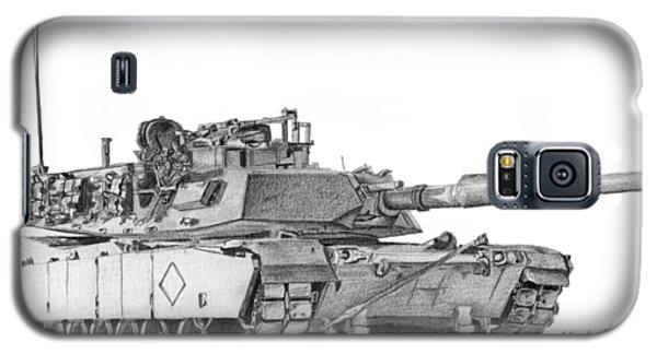 M1a1 Battalion Commander Tank Galaxy S5 Case