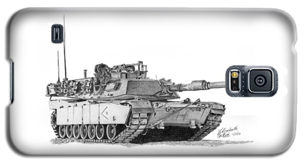 M1a1 D Company Xo Tank Galaxy S5 Case