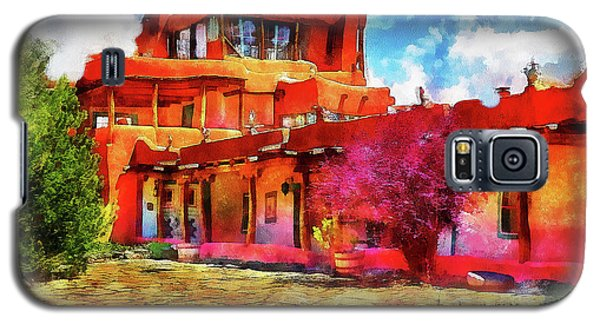 Mabel's Courtyard In Aquarelle Galaxy S5 Case