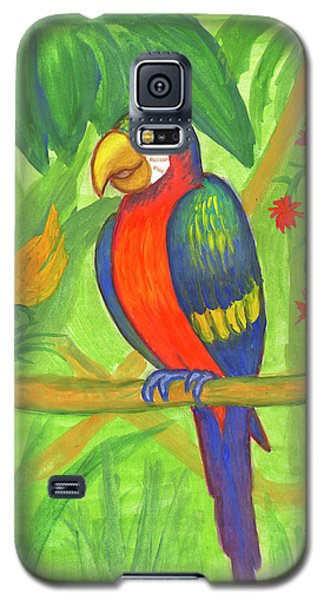 Macaw Parrot In The Wild Galaxy S5 Case