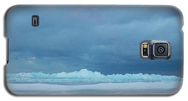 Mackinaw City Ice Formations 21618011 Galaxy S5 Case
