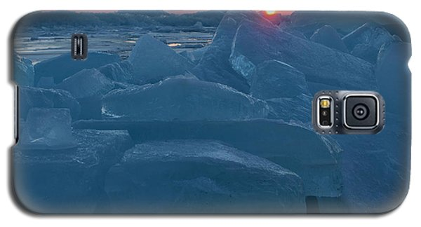 Mackinaw City Ice Formations 21618013 Galaxy S5 Case
