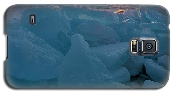 Mackinaw City Ice Formations 21618014 Galaxy S5 Case