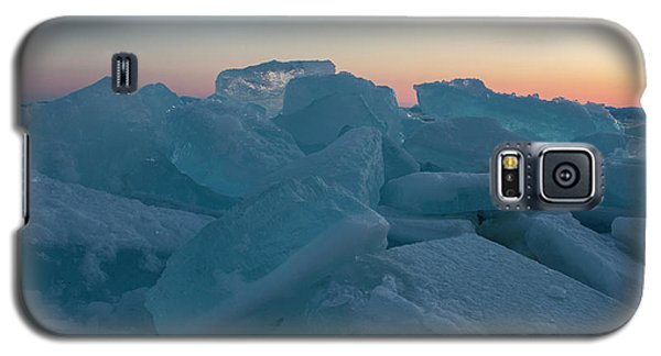 Mackinaw City Ice Formations 2161808 Galaxy S5 Case