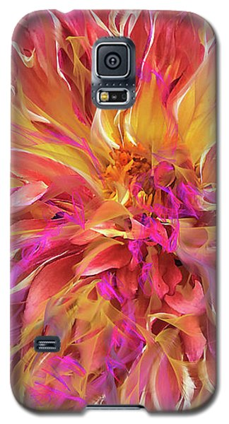 Magenta Sunshine Galaxy S5 Case