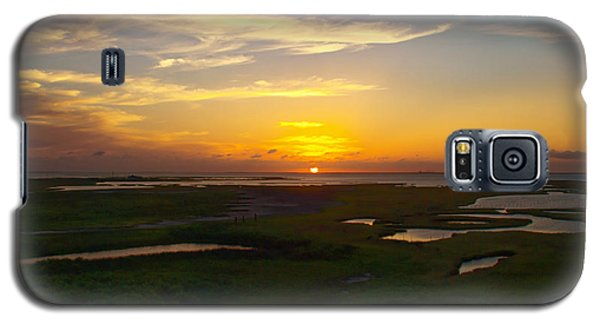Galaxy S5 Case featuring the photograph Maggies Cove Sunset by James Granberry