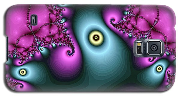 Magical Abstract Pink Art Print Galaxy S5 Case