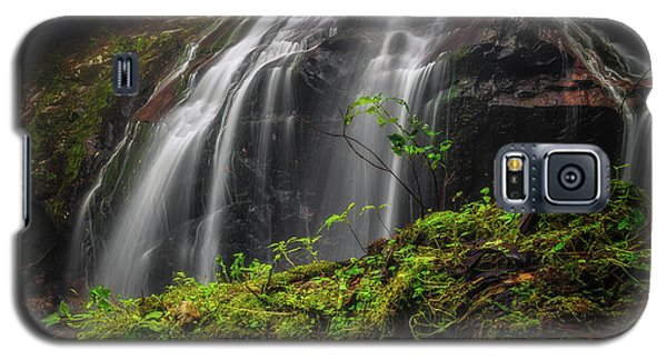 Magical Mystical Mossy Waterfall Galaxy S5 Case