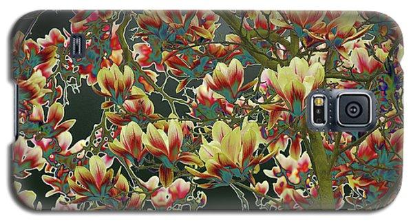 Magnolia Galaxy S5 Case - Magnolia Green by Petra Koehler Rose
