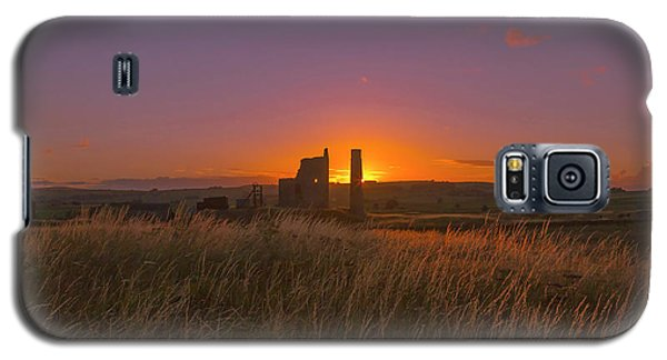 Magpie Mine Sunset Galaxy S5 Case