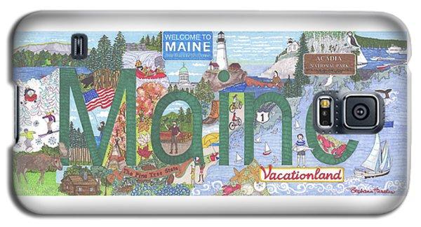 Maine Galaxy S5 Case